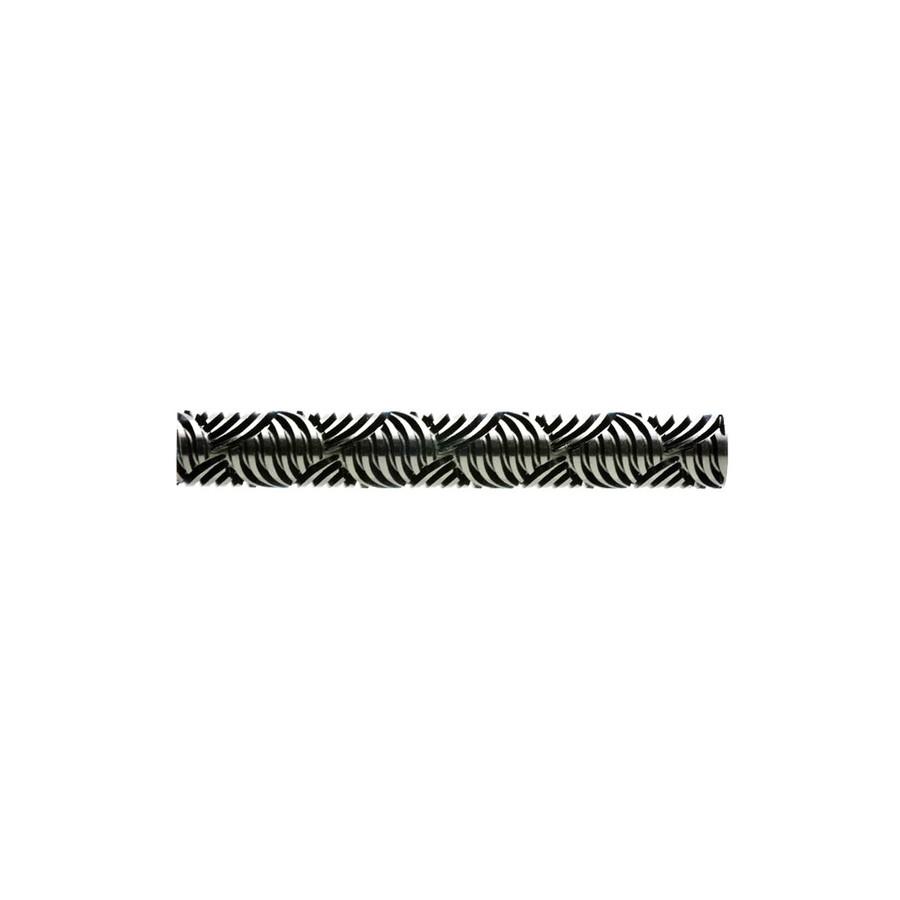 Large Acrylic Texture Roller - Rapunzel's Weave 7.5cm