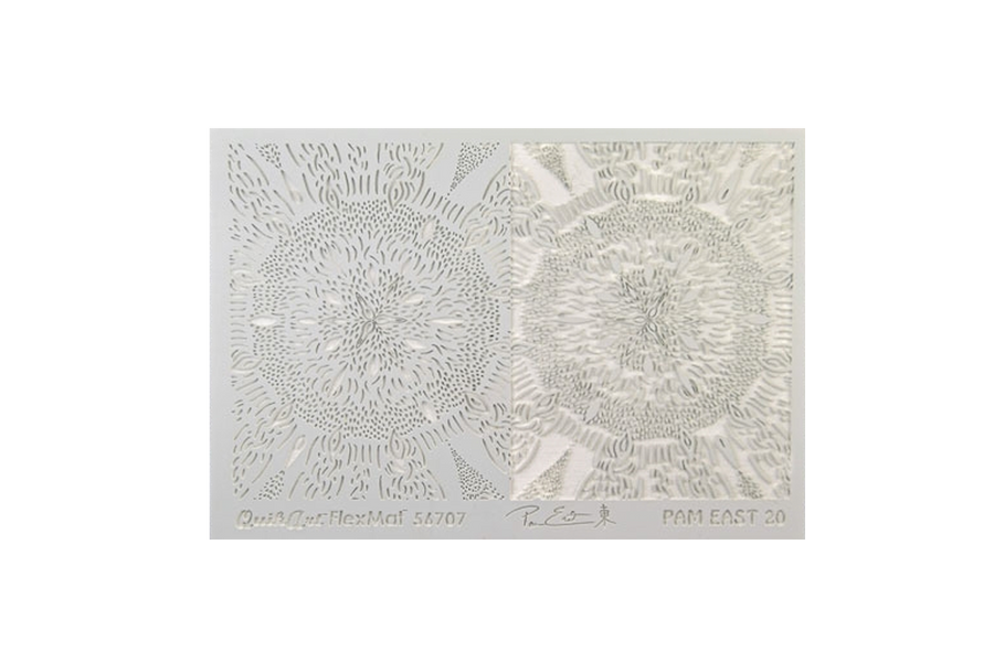 Pam East FlexMat Texture Stamp - Seedburst