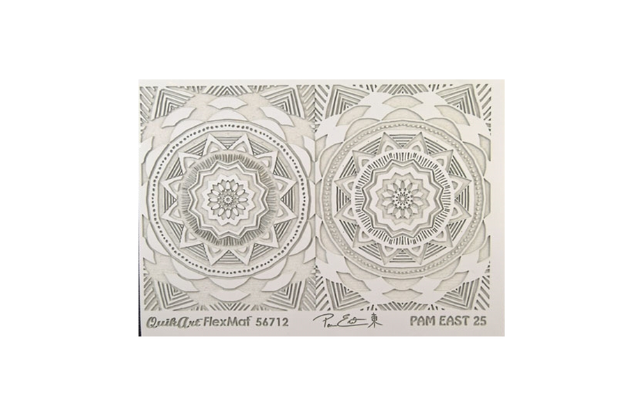 Pam East FlexMat Texture Stamp - Radiance