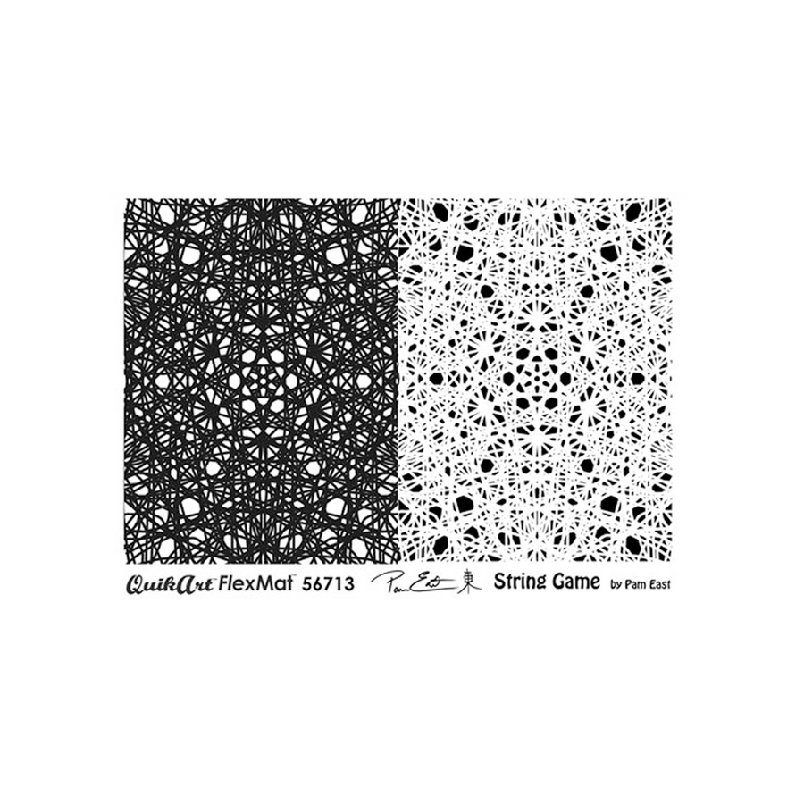 Pam East FlexMat Texture Stamp - String Game