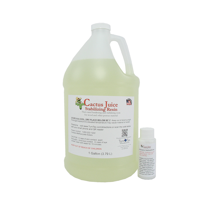 *Cactus Juice Stabilizing Resin - 3.79 Litres (1 US Gallon)