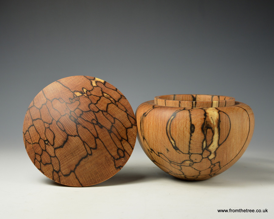 Spalted Beech bowl by George Watkins of www.fromthetree.co.uk/