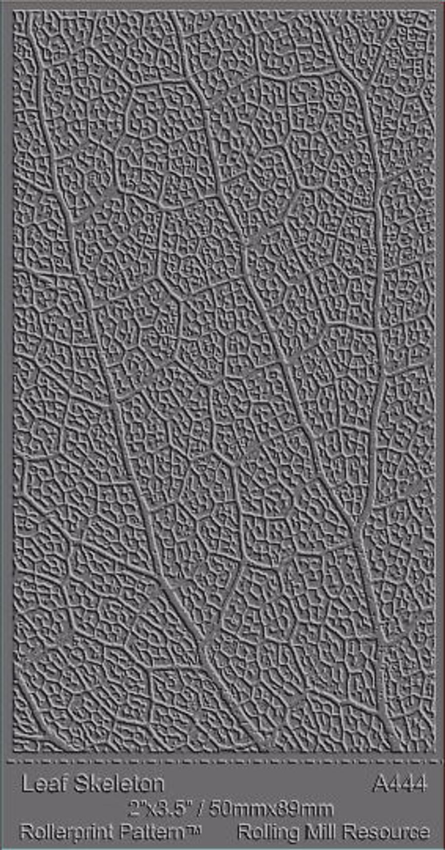 RMR Laser Texture Paper - Leaf Skeleton - 50 x 89mm