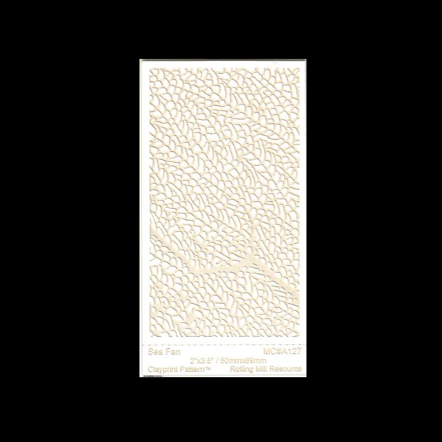 RMR Laser Texture Paper - Sea Fan - 50 x 89mm