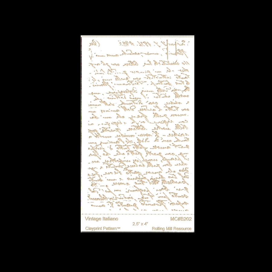 RMR Laser Texture Paper - Italian Love Letter - 63 x 101mm