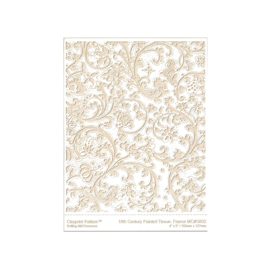 RMR Laser Texture Paper - Painted Tissue France - 102 x 127mm