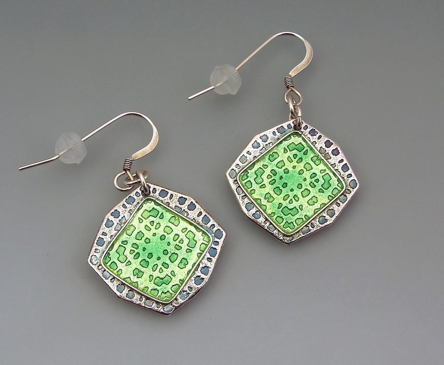Earrings by Joy Funnell