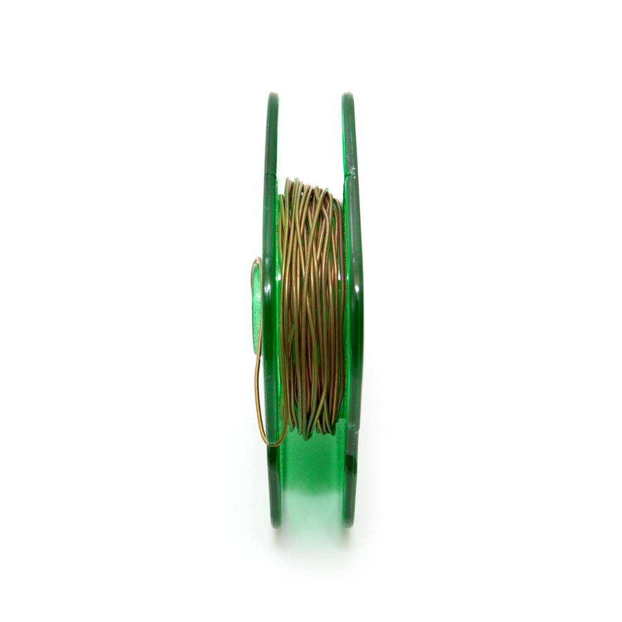 Bronze Round Wire 0.80mm x 5 metres reel