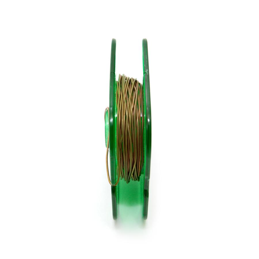 Bronze Round Wire 0.60mm x 5 metres
