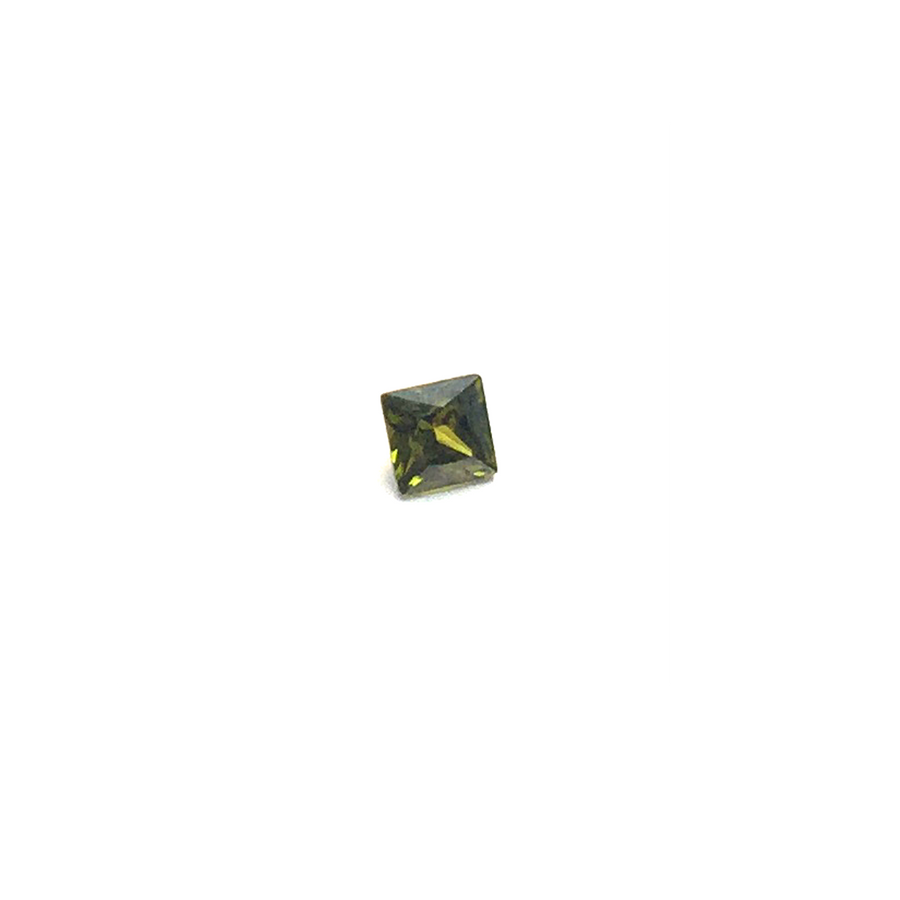 Lab Created Gemstone - Peridot Square