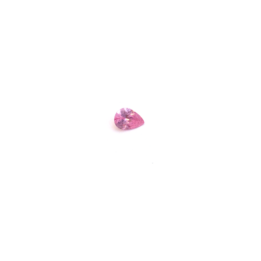 Lab Created Gemstone - Pink Pear