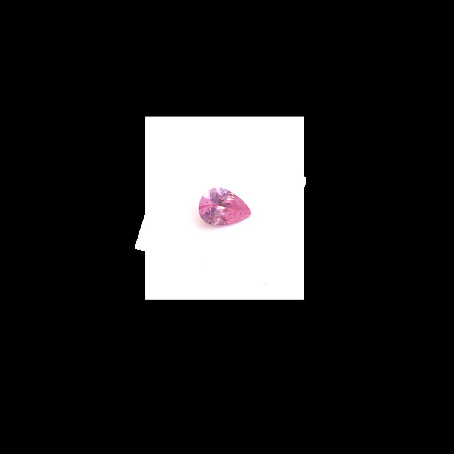 Lab Created Gemstone - Pink Pear