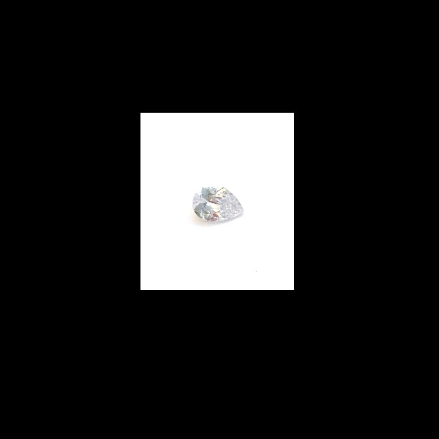 Lab Created Gemstone - White Pear