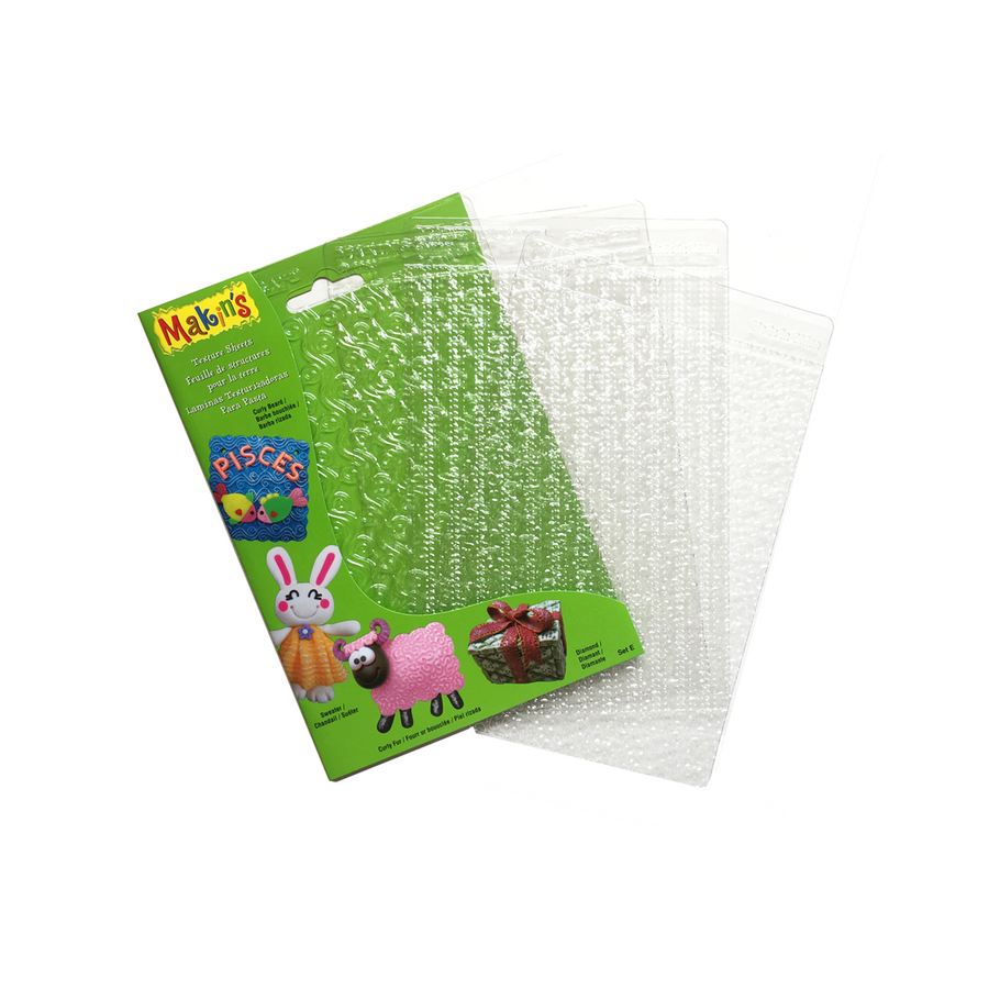 Makin's Clay Texture Sheets - Set E