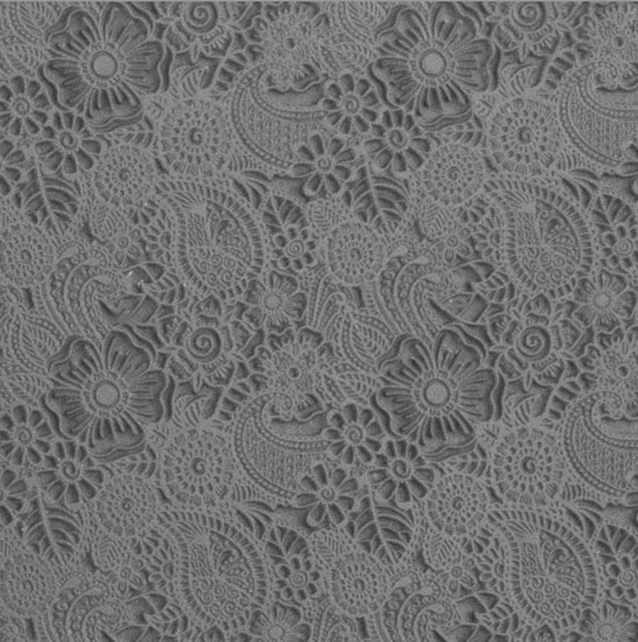 Mega Texture Tile - Daisy Paisley
