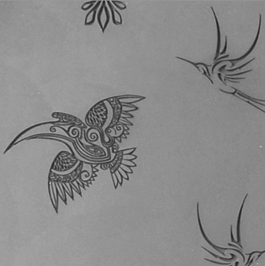 Jewellery Artist Elements Texture Sheet - Flying Creatures