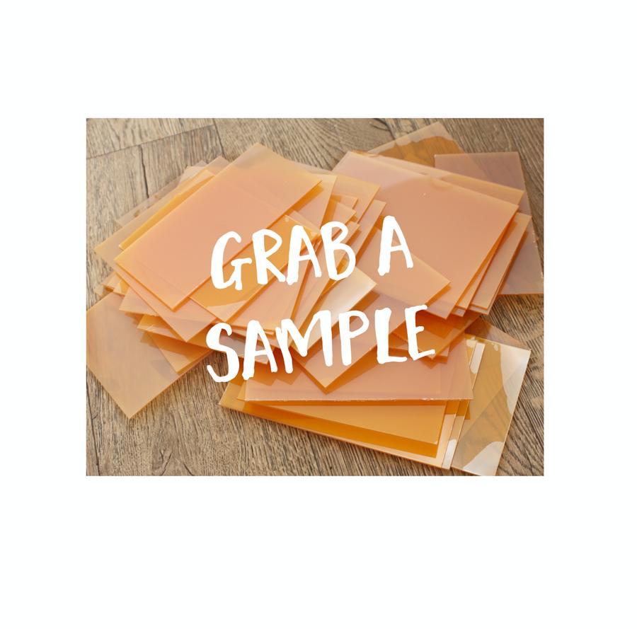 Photopolymer Plate Sample