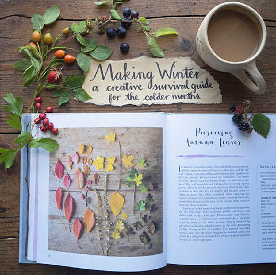 Making Winter: A Creative Guide for Surviving the Winter Months - Book by Emma Mitchell