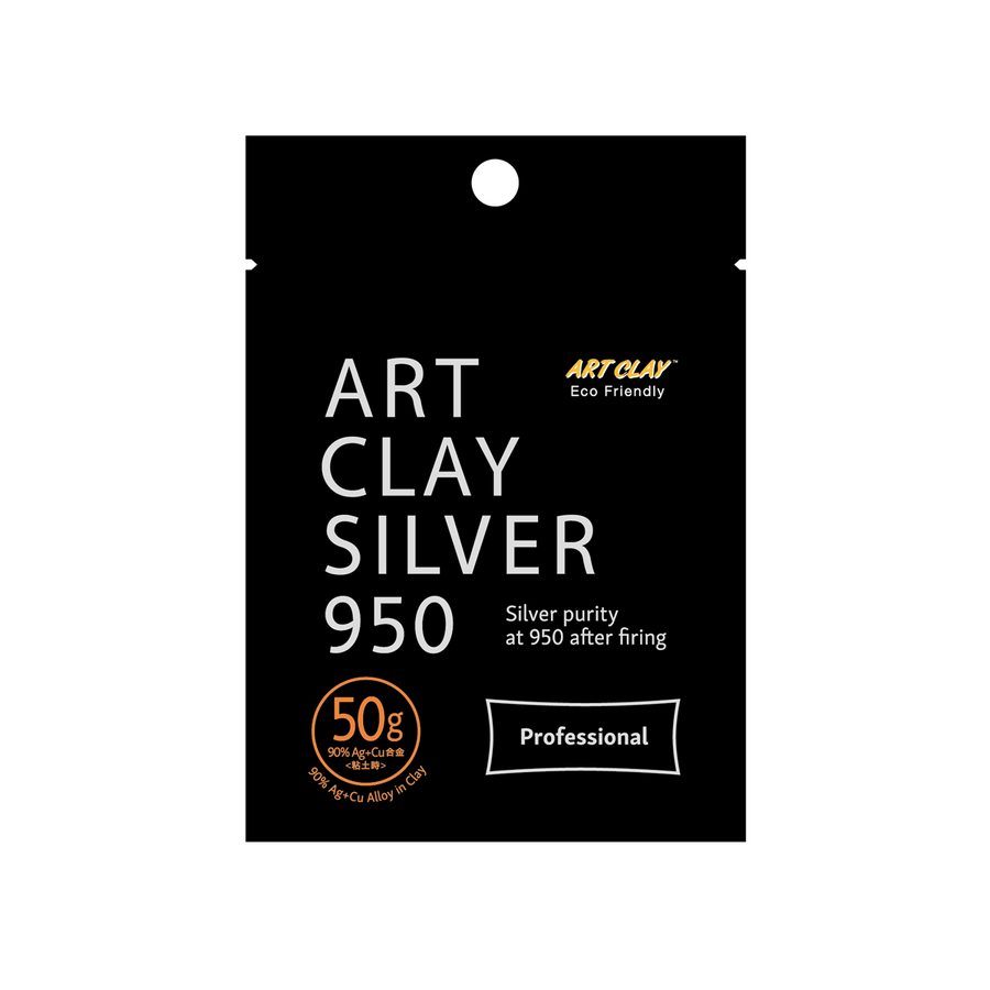Art Clay 950 STERLING Silver Clay - 50g