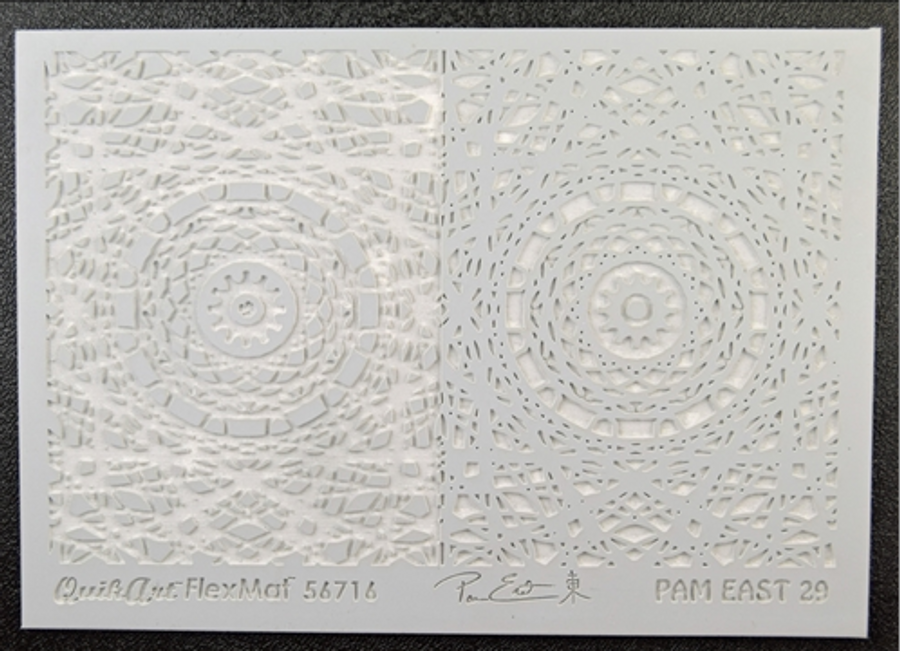 Pam East FlexMat Texture Stamp - Steampunk Central