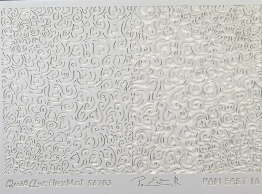 Pam East FlexMat Texture Stamp - Heartfelt