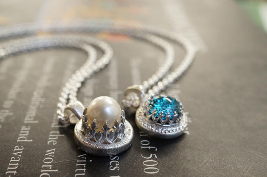 Sterling Silver Royal Bezel Wire - Crown (10cm)