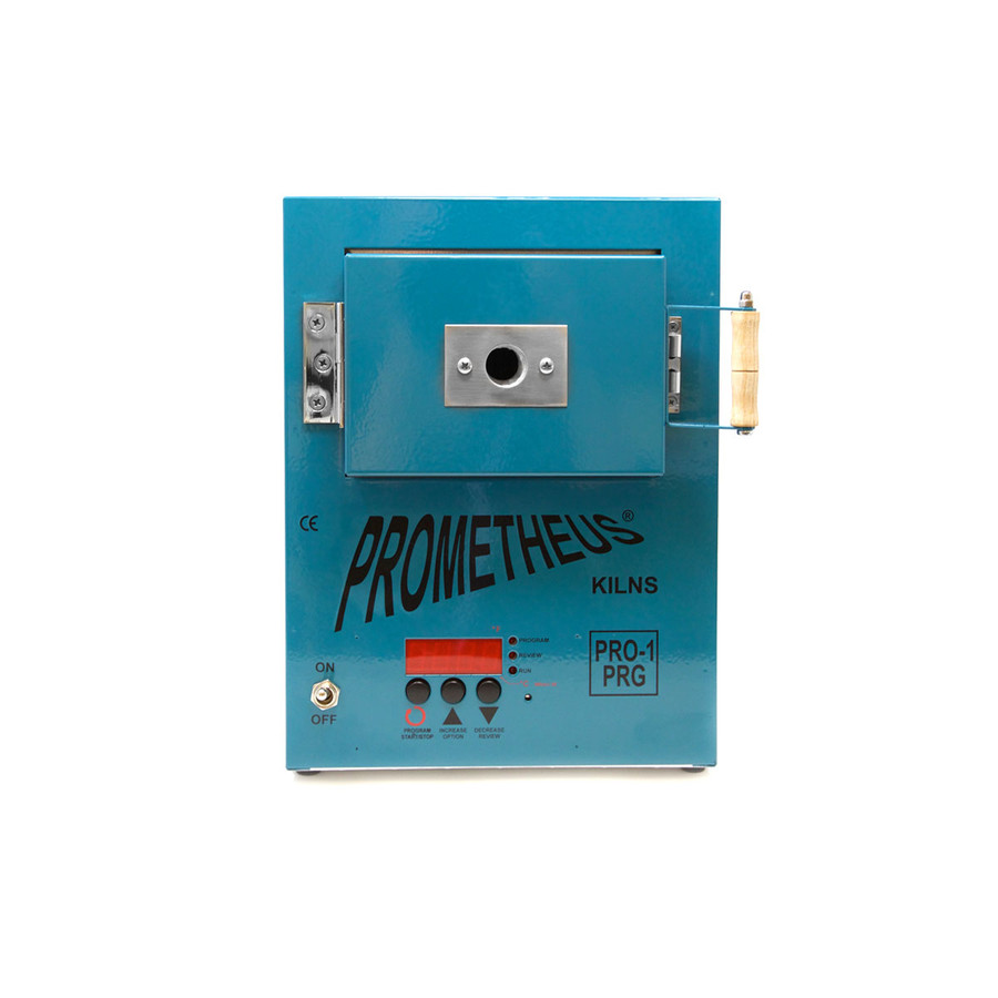 Prometheus Programmable Mini Kiln PRO-1 PRG - Exclusive Dark Teal