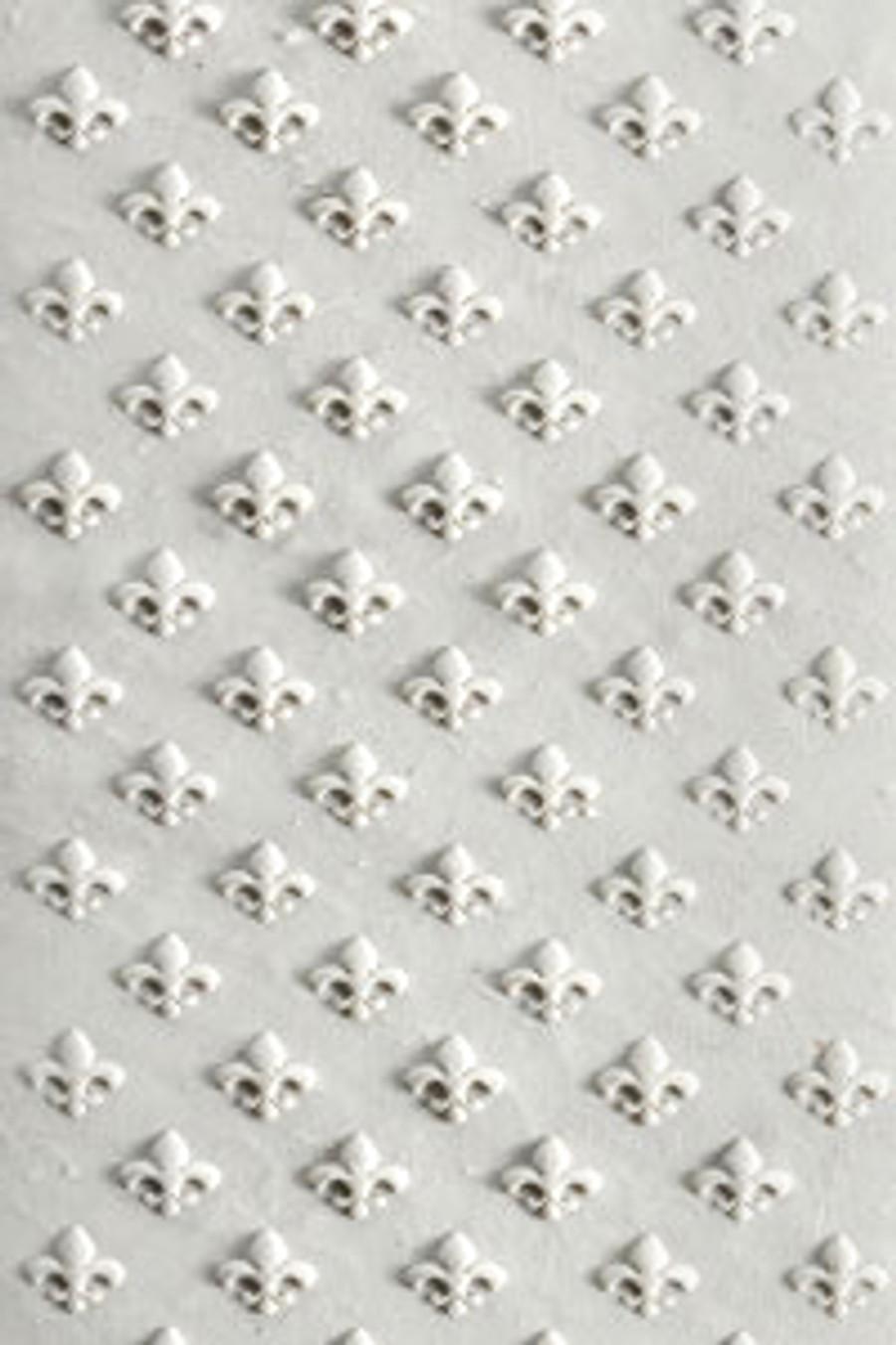Acrylic Texture Roller - Fleur-de-lis 5cm