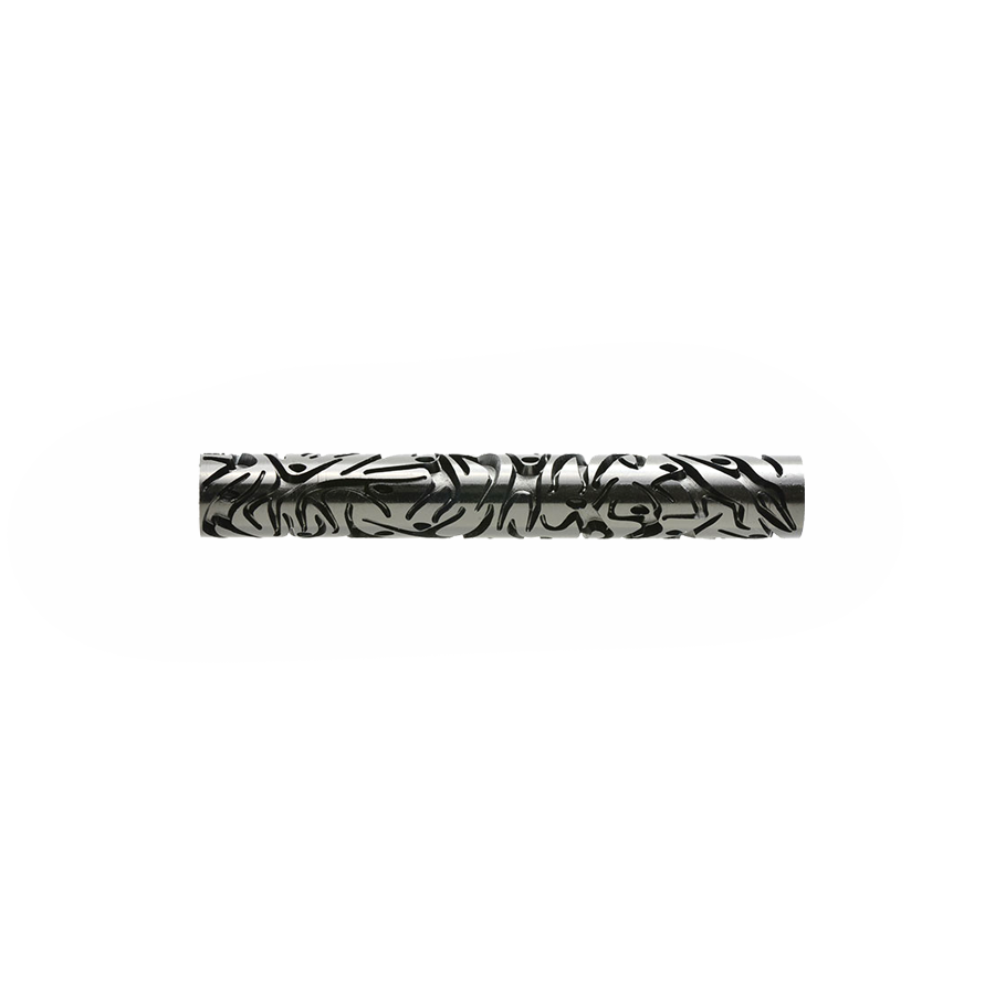 Large Acrylic Texture Roller - Dancing 7.5cm