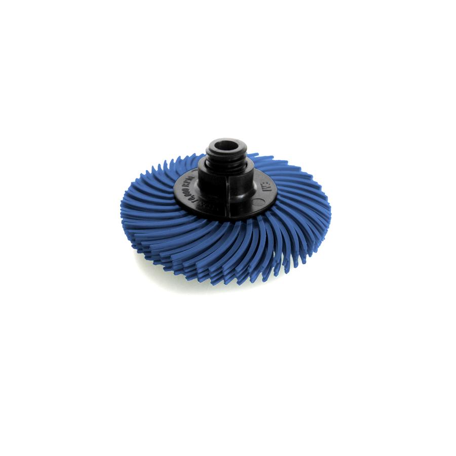 "JoolTool Essentials: 3M Radial Bristle Brush 3""  4-ply, Blue 400 Grit"