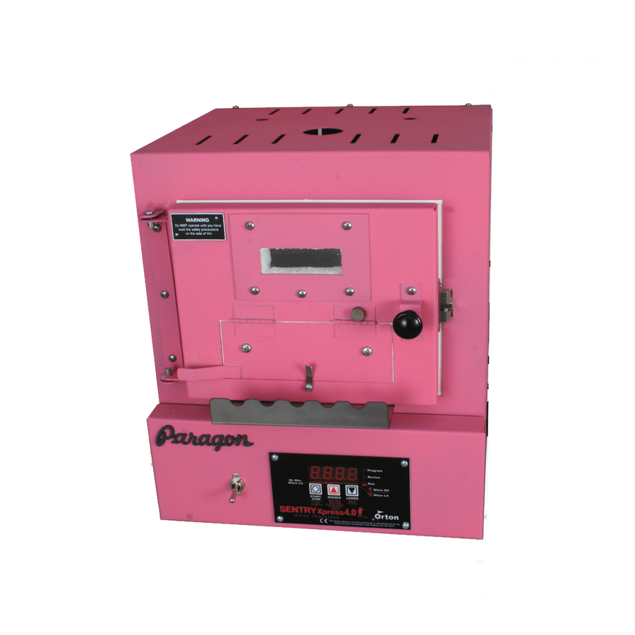 Paragon SC2 Programmable Kiln with Bead Door & Window - Hot Pink