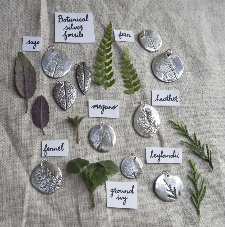Making Winter + Silver Clay Kit