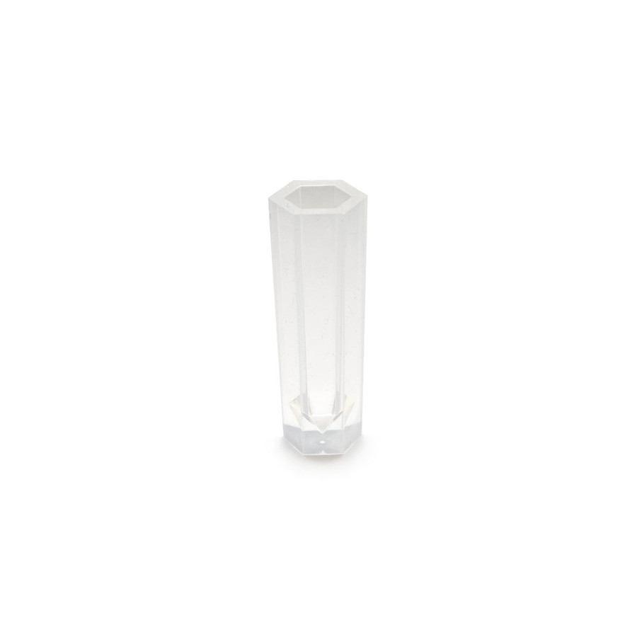 Silicone Resin Mould - Tube Crystal Hexagon