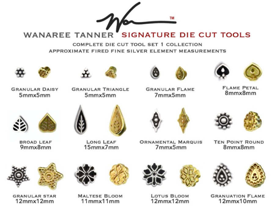 Wanaree Tanner Die Cut Tool Set 1