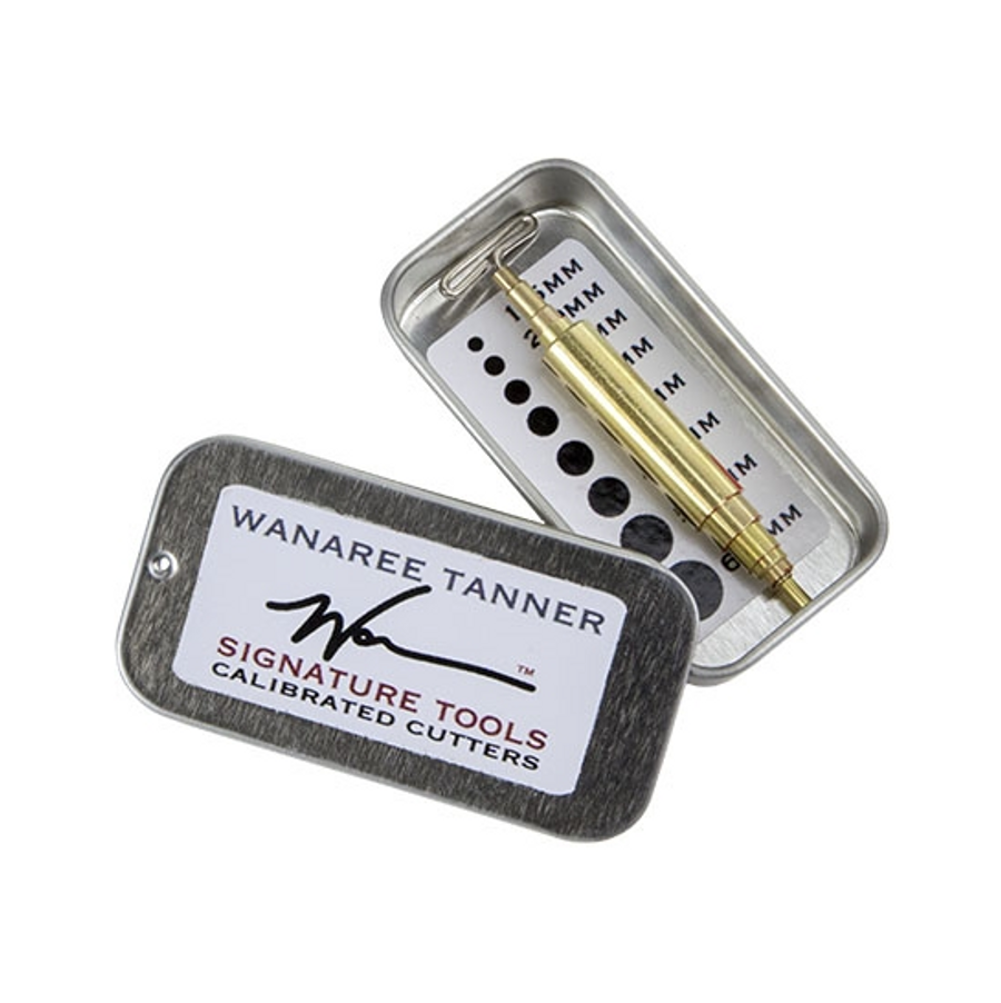 Wanaree Tanner Signature Tools - Calibrated Cutters Set