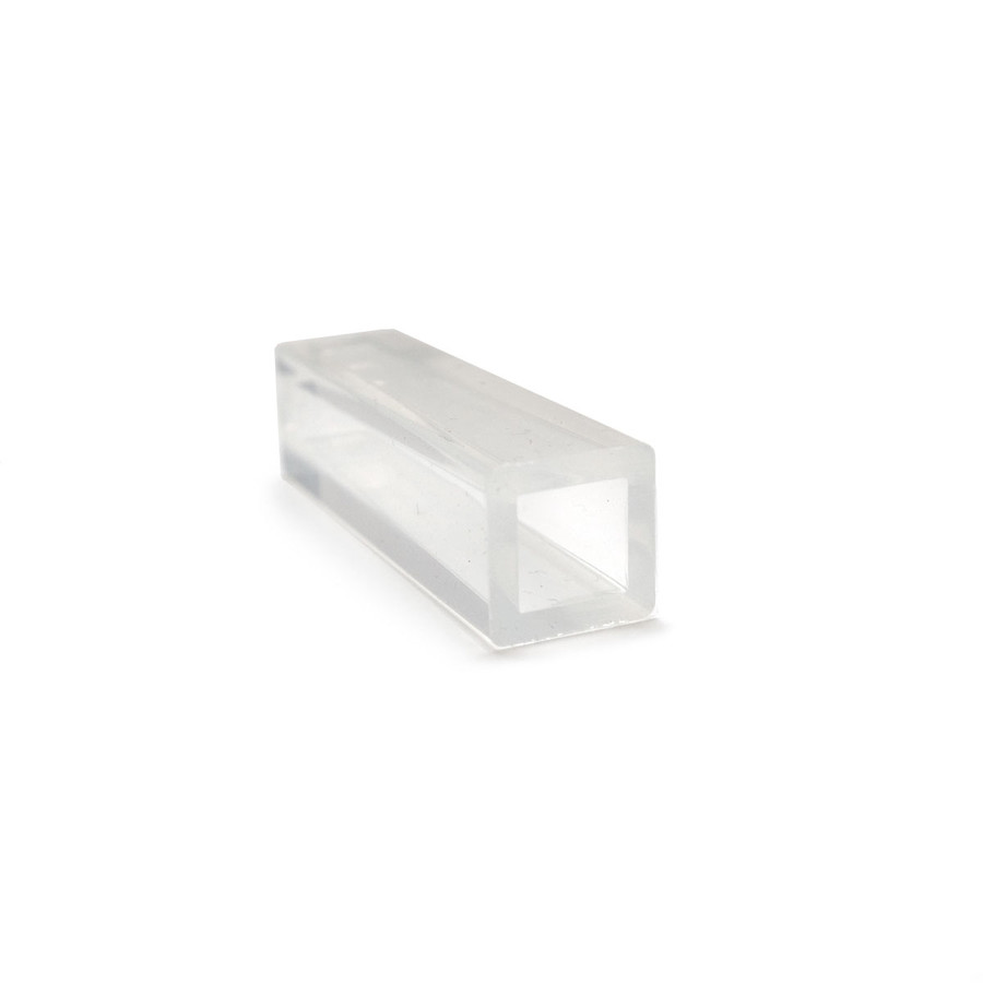 Silicone Resin Mould - Tube Pointed Square