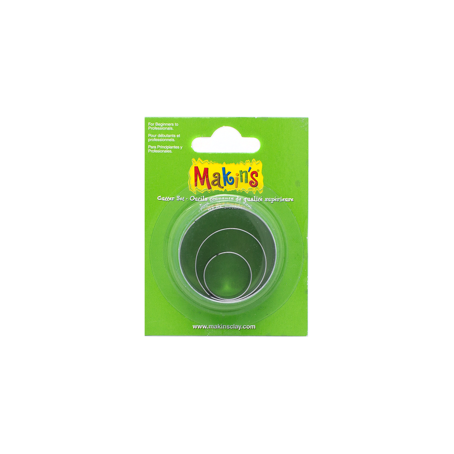 Makin's Clay Cutter Set - Round