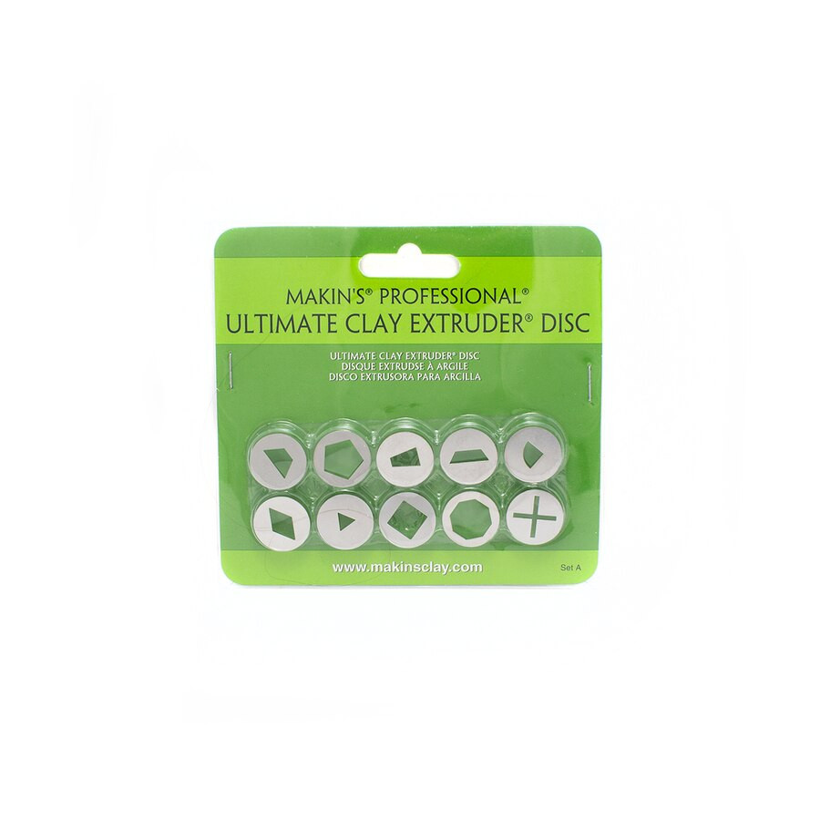 Makin's Ultimate Clay Extruder Discs - Set A