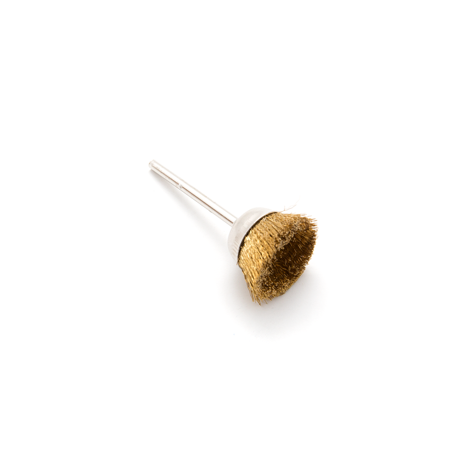 Brass Brush - Wire Cup, 25mm