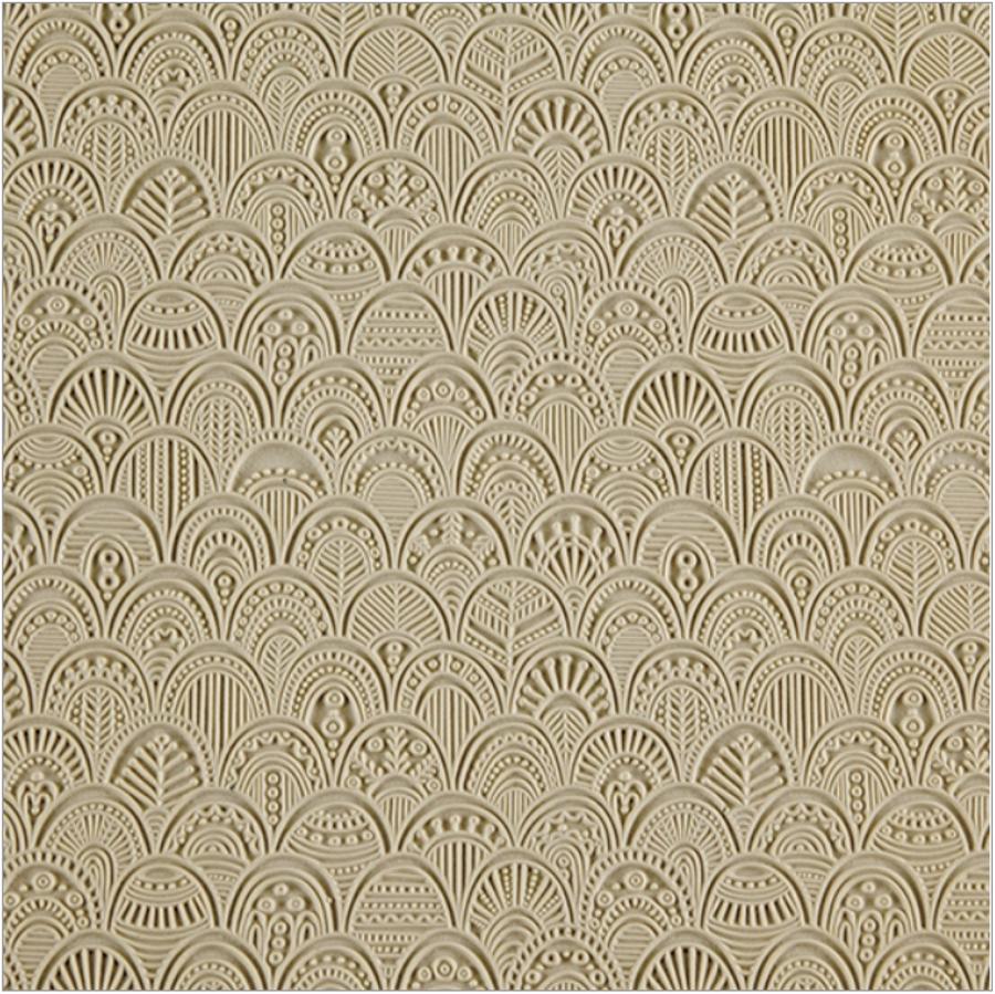 Easy Release Texture Tile - Rococo