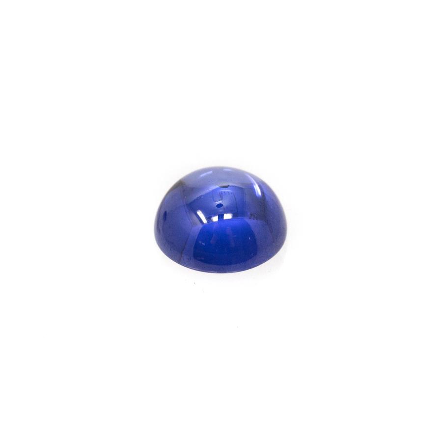Round Cabochon - CZ Tanzanite - 8mm (Non-fireable)