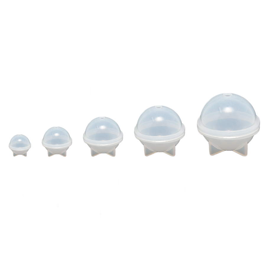 Full Set of Silicone Sphere Moulds