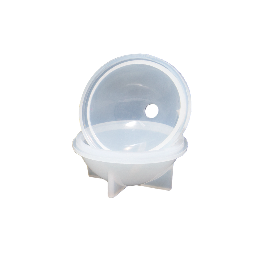 Resin Sphere Mould with lid.