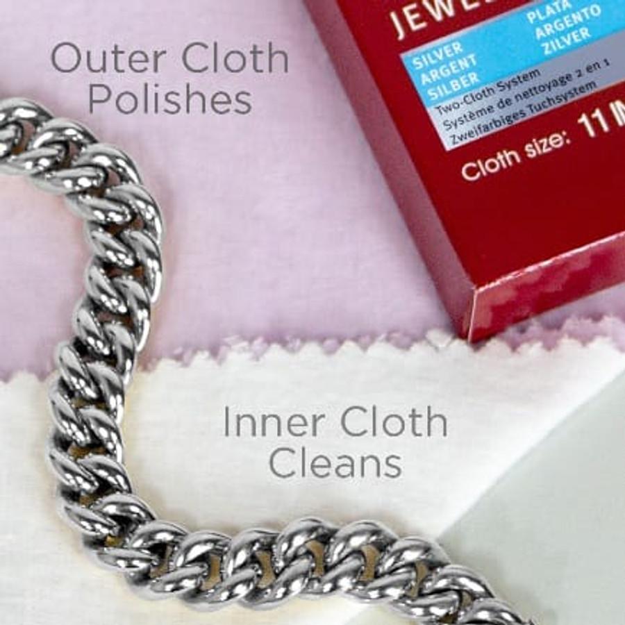 Connoisseurs UltraSoft Silver Jewellery Polishing Cloth