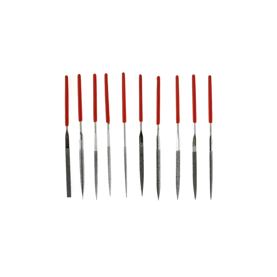 Diamond Needle File Set - 10pc