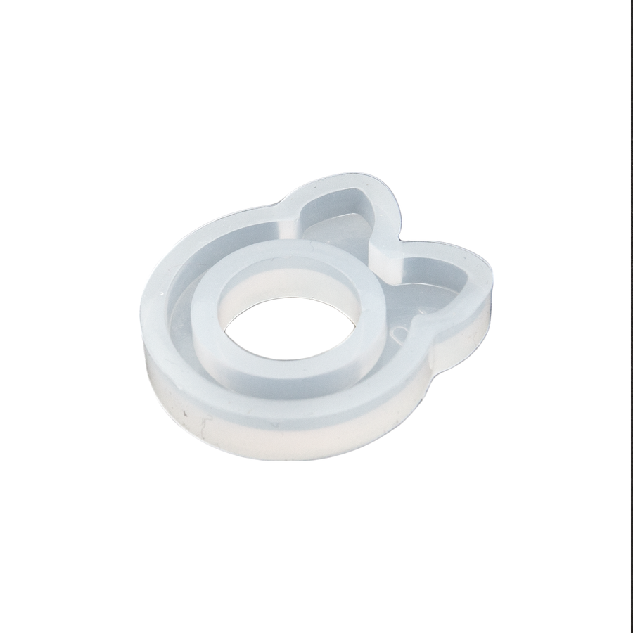Cat Ears Ring Mould - Large 18mm