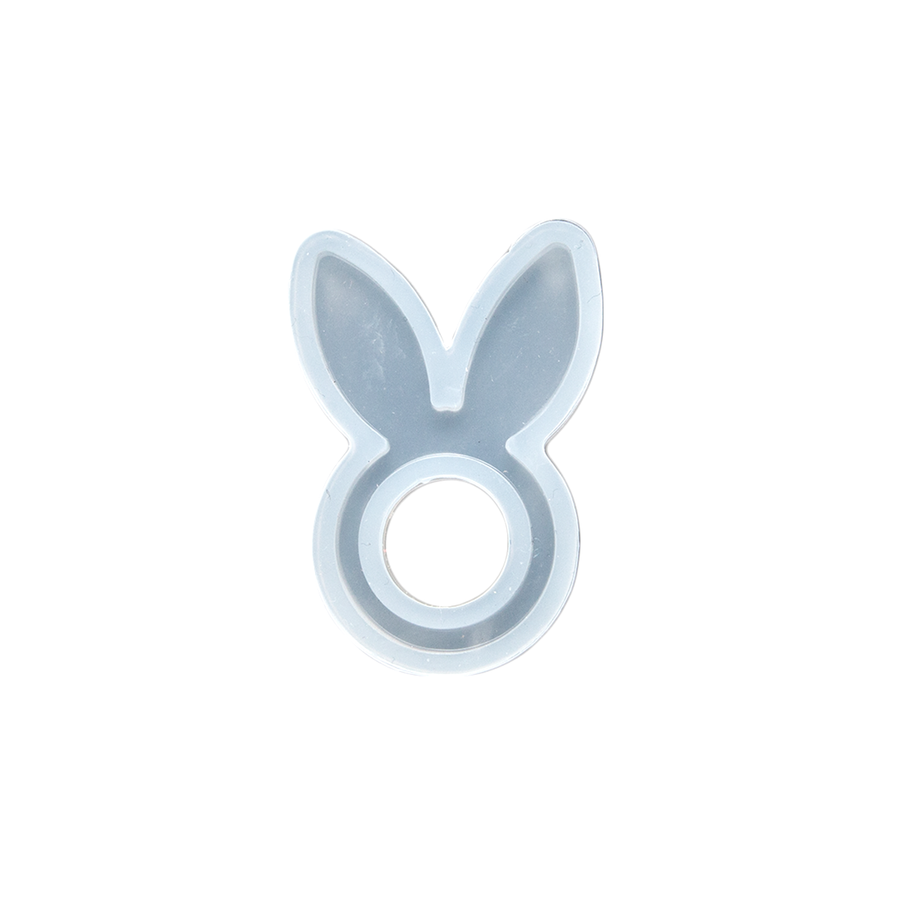 Silicone Resin Mould - Bunny Ears Ring - Small