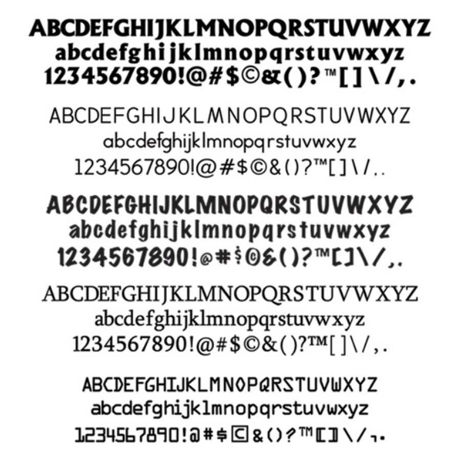 AlphaDisc - 12 Point Font Pack 2