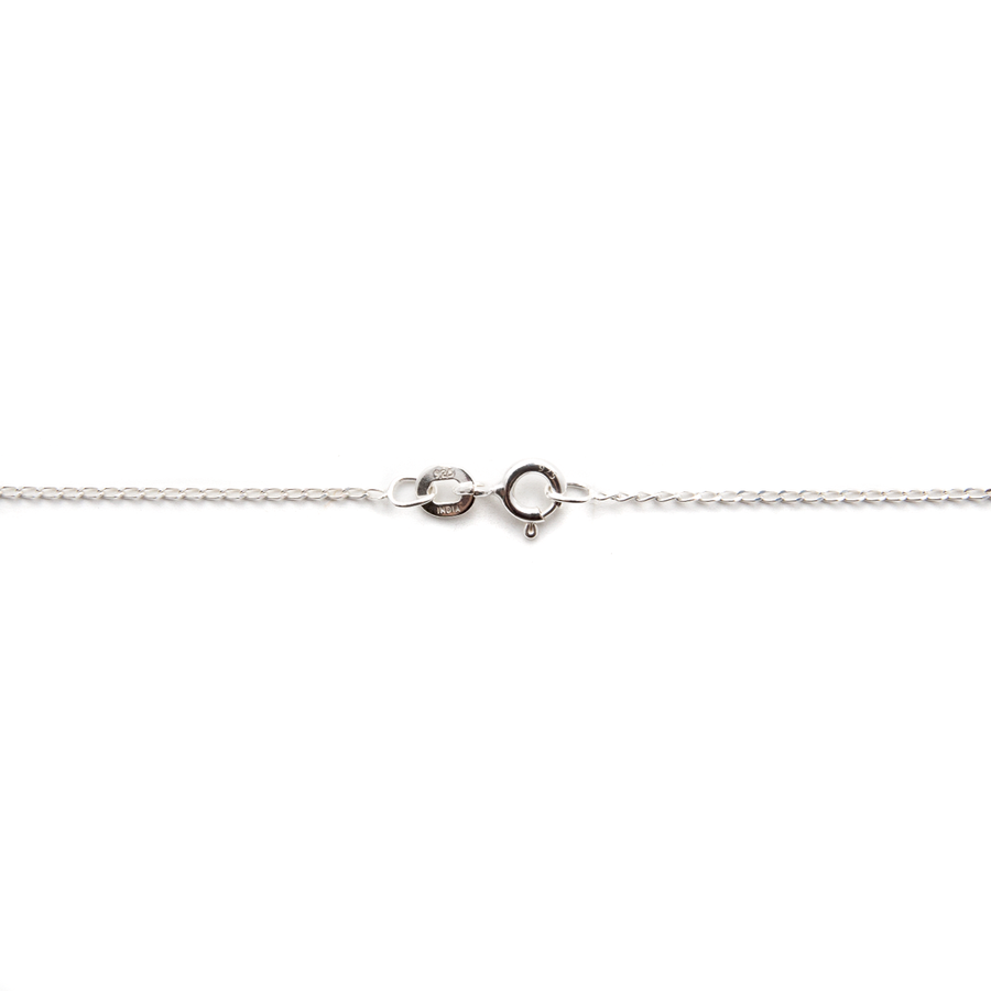 Finished Sterling Silver Gossamer™ Curb Chain - 40cm