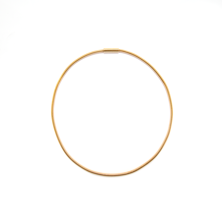 Gold-Plated Omega Chain - 45cm
